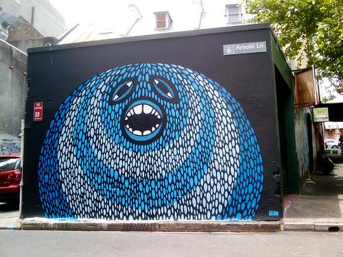 beastman street art