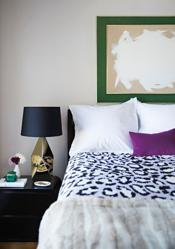 11 Le Fashion Blog -- A Fashionable Home: Laura Naples and Kristen Giorgi of NG Collective -- Domino Magazine By Brittany Ambridge -- Art, Bed Room, Nate Berkus Gold Lamps -- photo 11-Le-Fashion-Blog-Fashionable-Home-Laura-Naples-Kristen-Giorgi-NG-Collective-For-Domino-By-Brittany-Ambridge-Art-Bed-Room-Gold-Lamps.jpg
