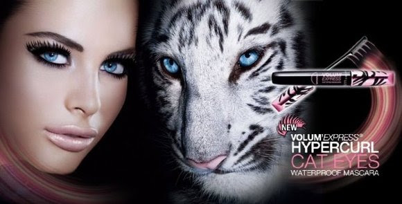 review maybelline Volume Express Hypercurl Cat Eyes Mascara