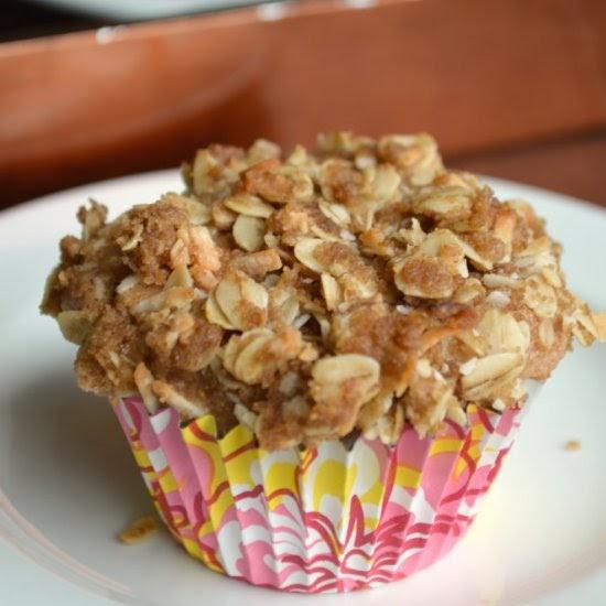 Vegan Strawberry Coconut Muffins