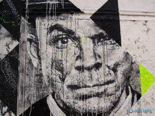 Arte Urbana by Samina - Caras a preto e branco na Figueira da Foz Portugal - Cara (5) [en] Urban art by Samina - Faces in Black and White in Figueira da Foz, Portugal