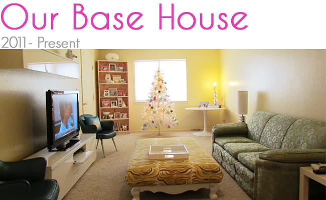 Where I lived page Our Base House