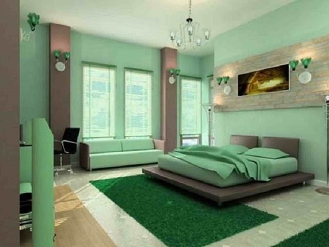 17 Dekorasi Ruangan dengan Menggunakan Cat Warna-warni ...