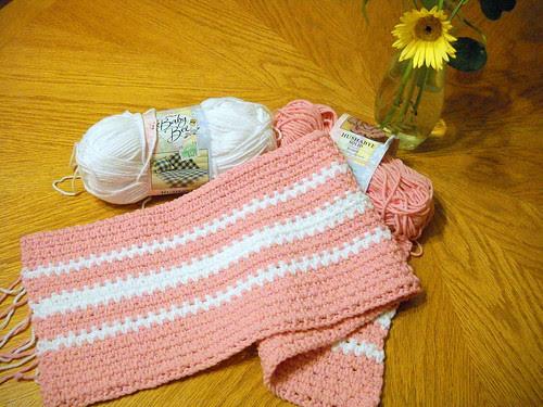 Crochet Baby Blanket by EMCphotos