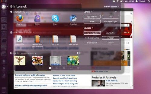 Unity Dash 500x312 Perfilando el aspecto de Unity Dash en Ubuntu 11.10
