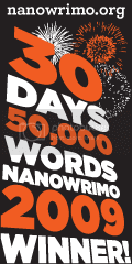 NaNoWRiMo 2009Winner