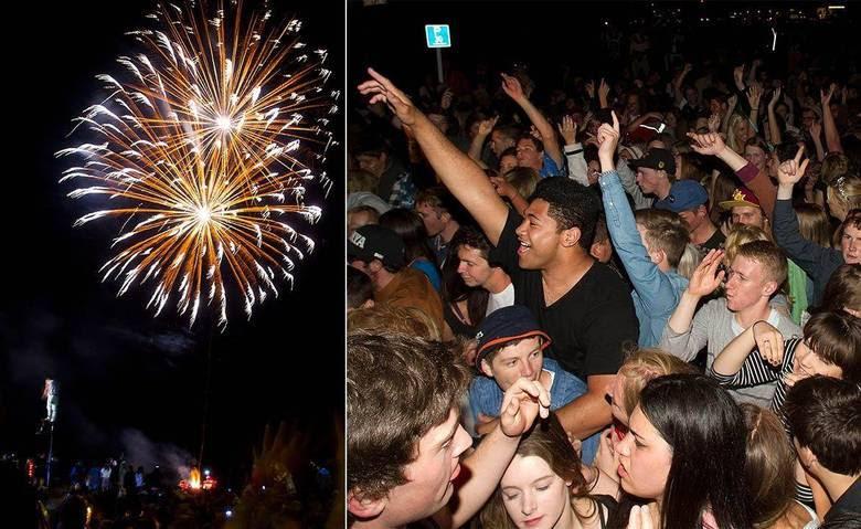 O Ano-Novo já é celebrado em várias partes do mundo. Um dos primeiros países a fazer a festa foi a Nova Zelândia, na Oceania. Acima, fogos de artifícios em Queenstown, onde turistas e moradores locais se divertem na virada de ano. A cidade está 15 horas à frente do horário de Brasília