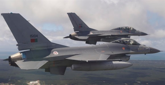 F-16 FAP - foto Força Aérea Portuguesa