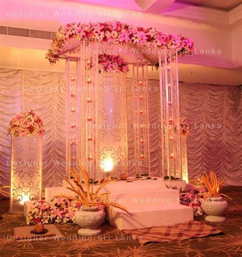 Pretty Poruwa Designer Wedding Sri Lanka Home   Tharu's