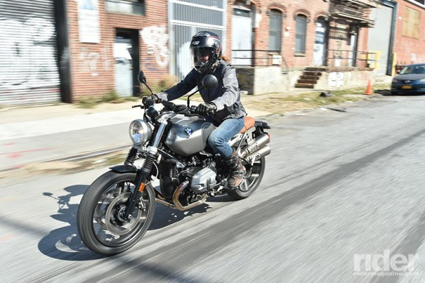 City streets are no match for the Scrambler's nimble nature and softly-sprung suspension. (Photo: Jon Beck)