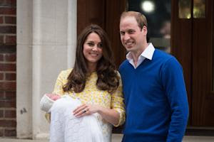Britain's Prince William (R) and Catherine, Duchess …