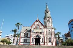La ville d'Arica au nord du Chili