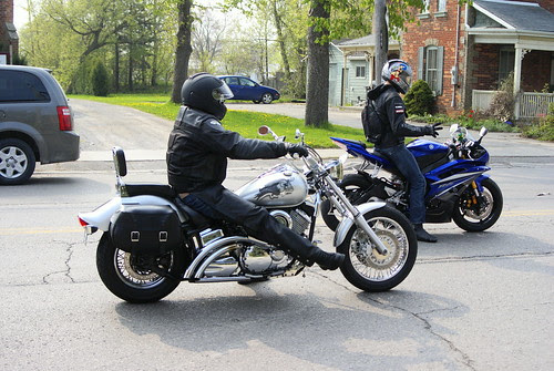 Hundreds of bikers pass through Haggersville