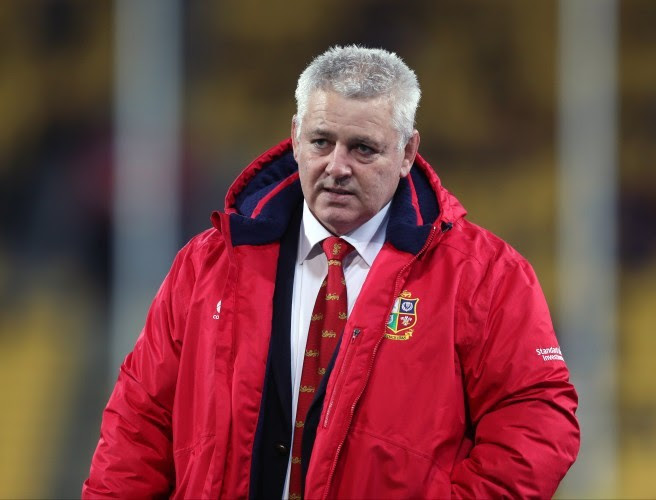 """Warren Gatland: """"I was a bit pissed off with myself reflecting on our preparation for that first test"""""""
