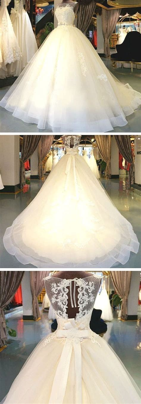 Online Elegant Cheap Sleeveless Bridal Ball Gown Long