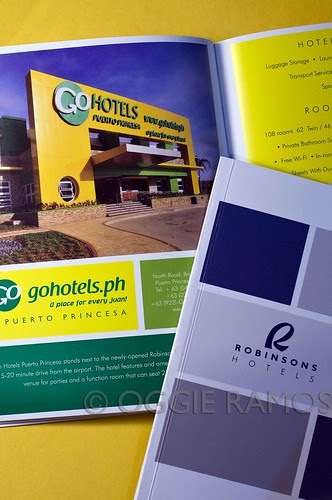Robinsons Hotels Brochure 2012 - Oggie GoHotels Palawan Shoot Featured