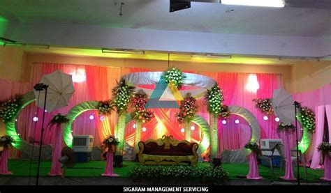 Wedding Reception Decoration at Tittagudi, Tamilnadu