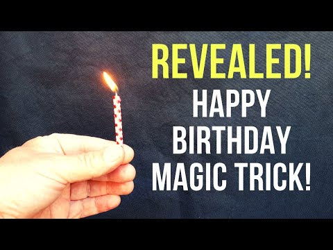 Incredible 'Happy Birthday' Magic Trick Revealed!