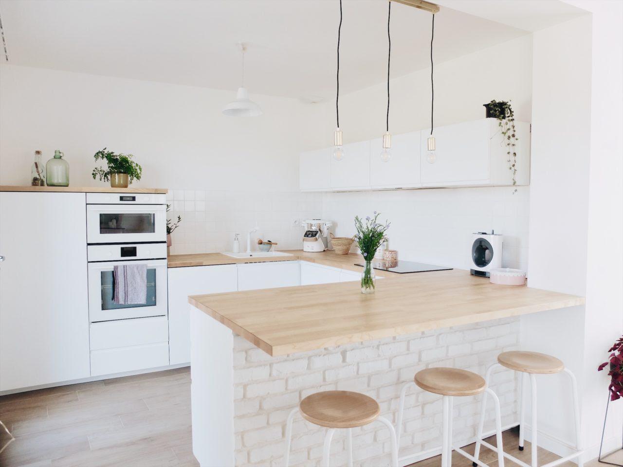Construction Maison Notre Cuisine Blanche Et épurée Avis Ikea