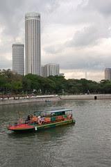 Singapore River From Esplanade Bridge
