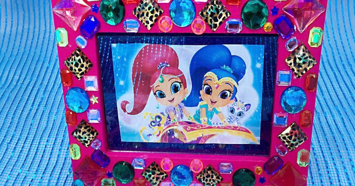 Shimmer And Shine Gem Frame Craft Nickelodeon Parents