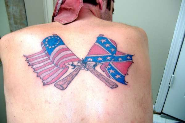 20 Rebellious Confederate Flag Tattoo Design Ideas For Women And