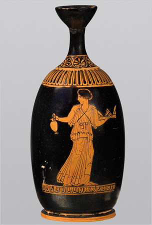 Athenian oil container