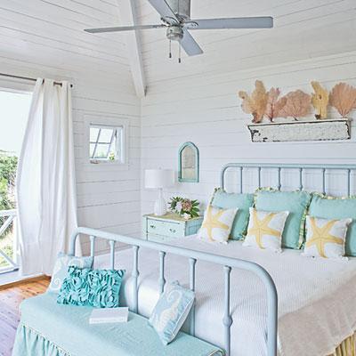bedrooms - beach    coastal living