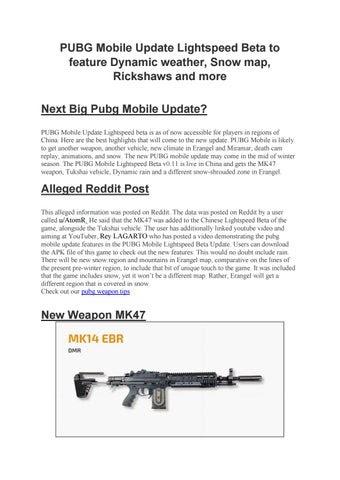 Pubg Mobile Attachments Guide Reddit   Pubg Mobile Hack