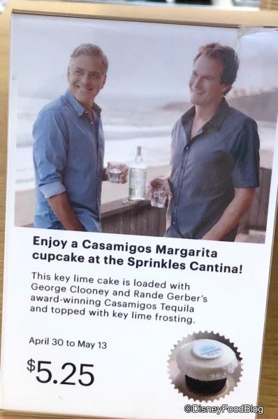 Casamigos Margarita Cupcake