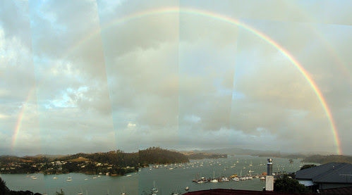 rainbow at opua