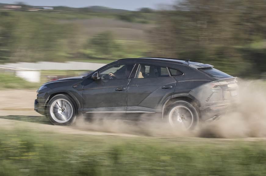 2018 Lamborghini Urus Review Test Drive Of The Super Suv Autocar India