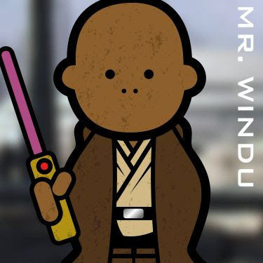 Mr. Mace Windu. A Jedi.