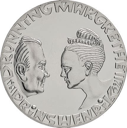 Denmark: Golden wedding anniversary of Margrethe II and