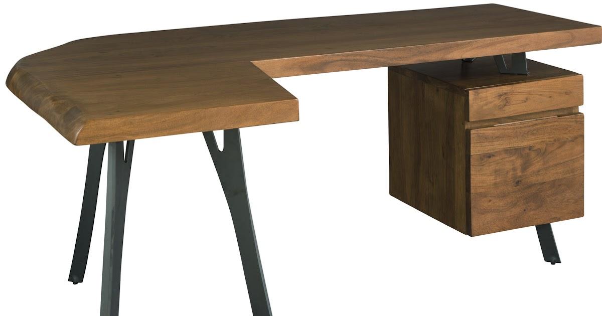 Solid Wood L Shaped Desk Wooden Cabinets Vintage
