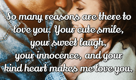 200 Cute Love Quotes For Her From The Heart Cute Short Love Quotes
