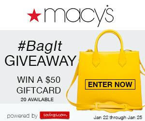 Macy's giveaway