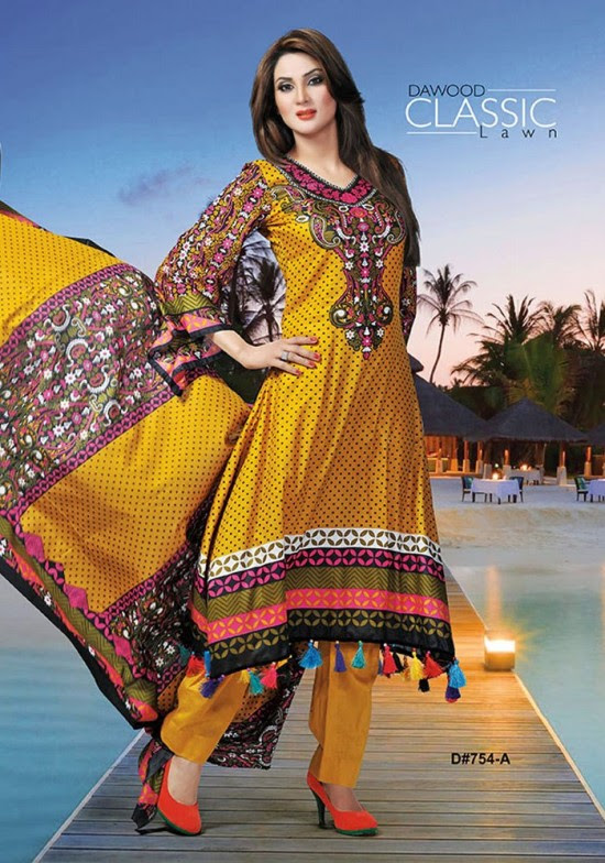 Dawood-Textile-Classic-Lawn-Collection-2013-New-Latest-Fashionable-Clothes-Dresses-22