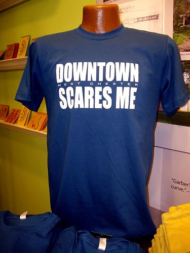 downtown scares me