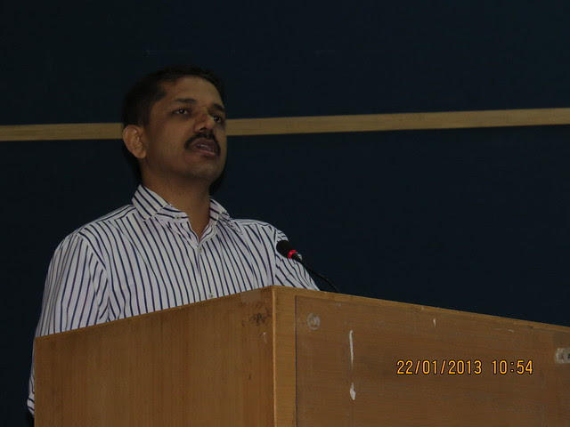 Dr.Shrikar Pardeshi (IAS), Commissioner, PCMC, Awareness Session on PCMC's Green Building Initiative