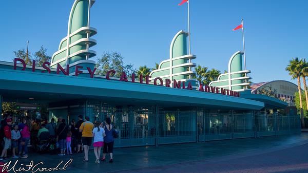 Disneyland Resort, Disney California Adventure, Buena Vista Street, Entrance