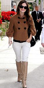 Rachel Bilson wearing Hanii Y