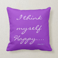 Bible Verse/Scripture Quote Pillow Throw Pillows