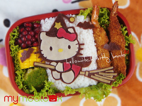 Hellowitch Kitty bento