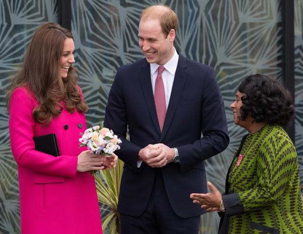 Kate Middleton e o marido, Príncipe William (Foto: AP Photo/Tim Ireland)