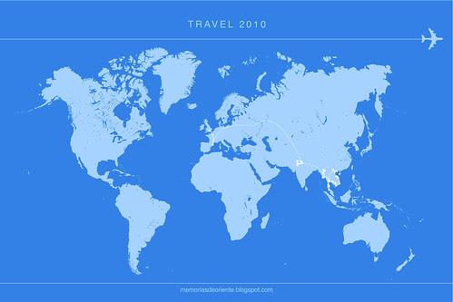 travelmap 2010