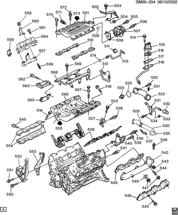 1995 Buick Century 3 1 Engine Diagram | Wiring Diagram answer | Chevy 3 1 Engine Parts Diagram |  | Ecator
