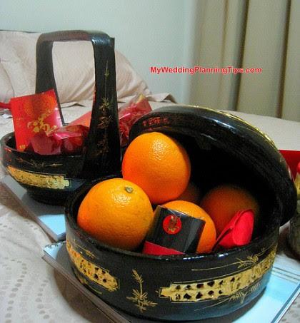Chinese Wedding Traditional Basket