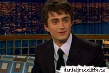 Daniel Radcliffe on Late Night with Conan O'Brien