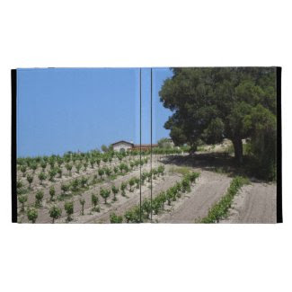 iPad Folio: Oak, Vines, at Croad Vineyard iPad Folio Covers